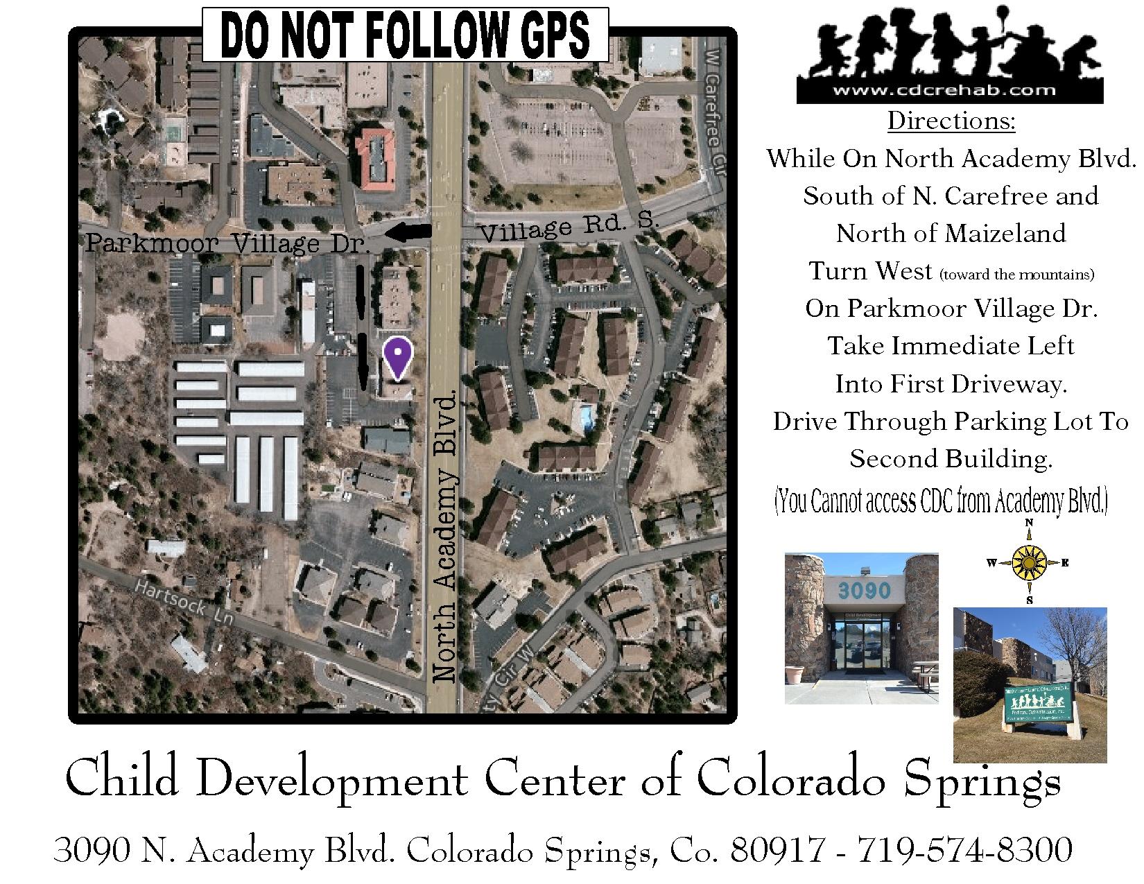 Child Development Center, Colorado Springs, Contact Us